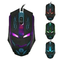 black and purple gaming mouse Warren