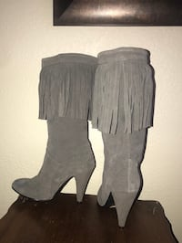N.Y.L.A leather fringe leather boots size 7. Firm price! No trades Fair Oaks, 95628