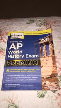 AP World History Study Book with 5 practice tests Fairfax, 22030