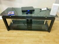 Glass and metal TV stand and shelf  Vaughan, L4J 7G1