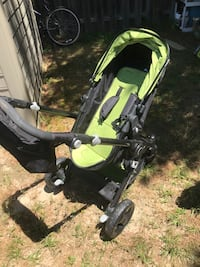 baby's black and green stroller Jackson, 08527
