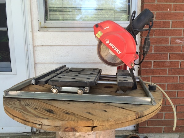 Used Husky Thd950l Tile Saw For Sale In Louisville Letgo