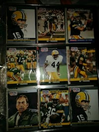 Collectors football cards excellent condition South Bend