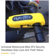 Motorcycle lock Towson
