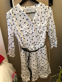 White and black heart pattern, size medium Edmonton, T6M 2Z6