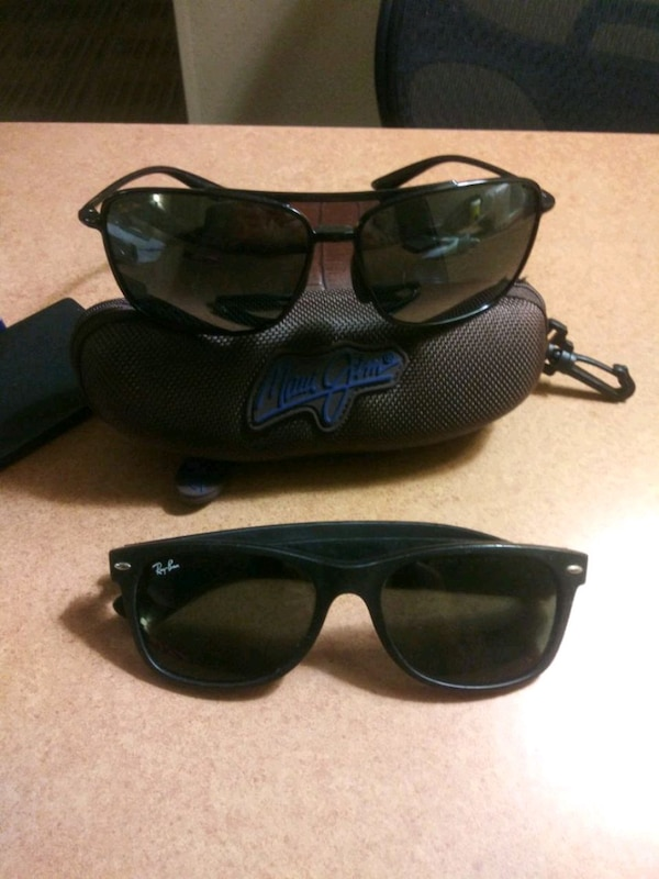 344c9e0c603 Used Maui jim mj sport and Ray bans for sale in Alvarado - letgo
