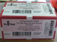 two The North Face tickets Bakersfield, 93306