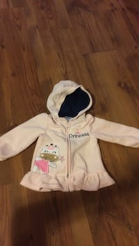 Light pink princess hoodie