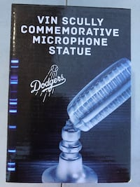 Los Angeles Dodgers Vin Scully Mic Statue  Rowland Heights, 91748