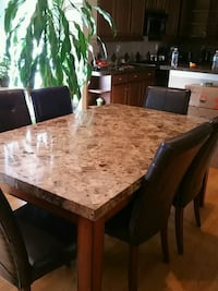 Marble top dining table and 6 chairs Houston, 77030
