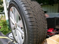 4 tires and rims 205/55R16 Glen Rock, 17327