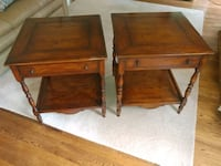 Set of end tables Centreville