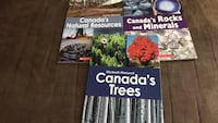 Canada close up books