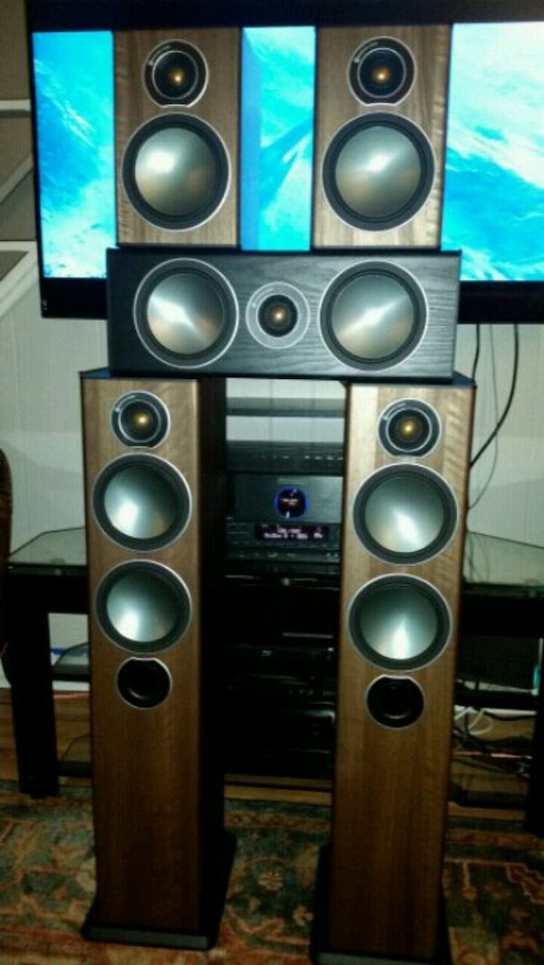 MONITOR  AUDIO BRONZE SURROUND SYSTEM 38bb0933-d6bb-42ea-8843-111d062a56b1