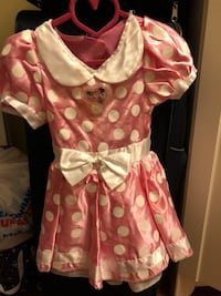 Size 2t Minnie Mouse dress / costume Vancouver, V5M 1J6