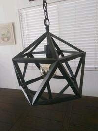 Black Metal Light Fixture Hemet, 92544