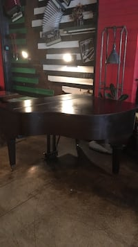 black grand piano Hamilton Chicago
