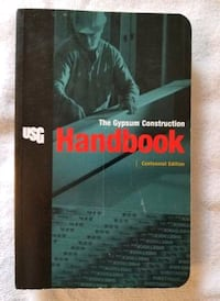 The Gypsum Construction Handbook New   Pulaski, 38478