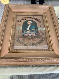 Antique George Washington picture. Tapestry, embroidery, etc. must see to appreciate. Pickup in Sykesville or beltsville, Maryland. Cross posted. No holds. Sykesville, 21784