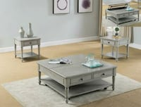 Liberty Gray End Table | 4117   Houston