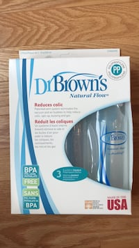 Dr. Brown's 8oz bottles, 3 pack  Vaughan, L4H 2W7