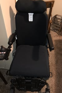 Electric wheelchair pride j6 with electric foot and leg lift as well