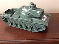 green toy battle tank Lower Macungie, 18106