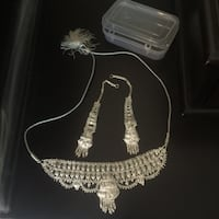 Necklace and earrings set $10 Calgary, T3J 2W7