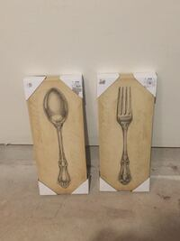 Painting of spoon and fork Clinton, 20735
