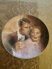 1958 Cinema Classics Indiscreet collectible plate. Whitby, L1P 1A1