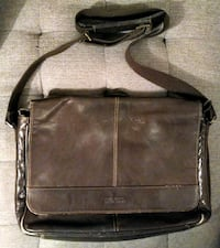 "Leather Messenger Bag: Kenneth Cole ""Reaction"" Toronto, M8Y 4G7"