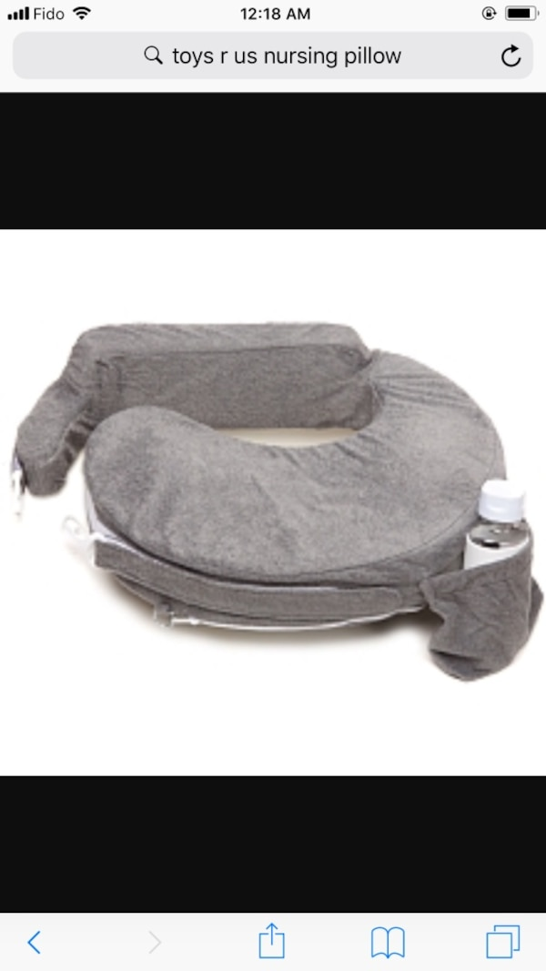 1bfcc8007 Used gray nursing pillow screenshot for sale in Surrey - letgo