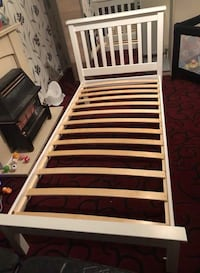 white wooden slatted bed frame Keighley, BD21 2PT