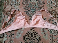 pink and white floral lace bra set Kitchener, N2G 2S3