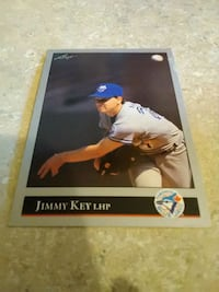 autographed baseball player trading card Baltimore, 21215