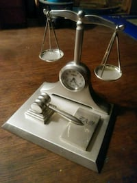 Silver Justice clock Cleveland, 44111