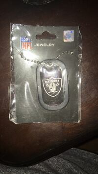 Raiders dog tag necklace  Great Mills, 20634