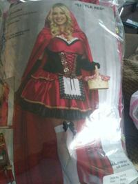 Adult Little Red Costume 3x-4x Rialto, 92376