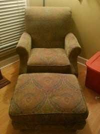 Chair and ottoman  Morristown, 37814