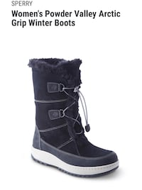 Sperry Powder Valley Arctic Grip Winter Boots BRAND NEW 3156 km