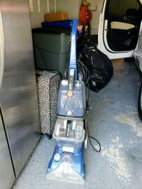 blue and black upright vacuum cleaner Aspen Hill, 20906