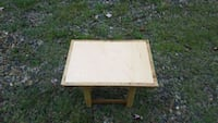 Maple and wormy chestnut end table Floyd, 24091