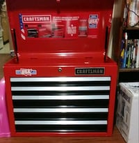 red and black Craftsman tool chest San Antonio, 78228