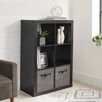 Better Homes and Gardens 6 Cube Storage Organizer, Multiple Colors Bristol