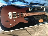 Ibanez Electric Guitar with case and strap Springfield, 22151