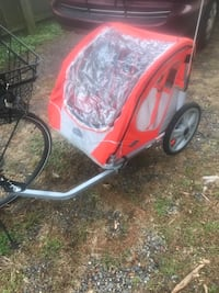 In step two Bicycle trailer