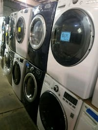 Front load washer and dryer set excellent conditio 46 mi