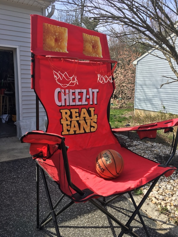 Fine Red And Brown Cheez It Camping Chair Ibusinesslaw Wood Chair Design Ideas Ibusinesslaworg