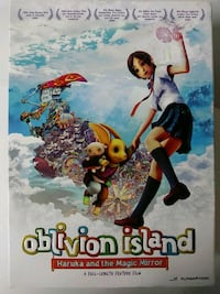 Oblivion Island Haruka and the Magic Mirror dvd