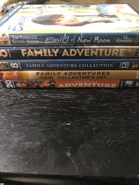 assorted-title DVD case lot Eatontown, 07724